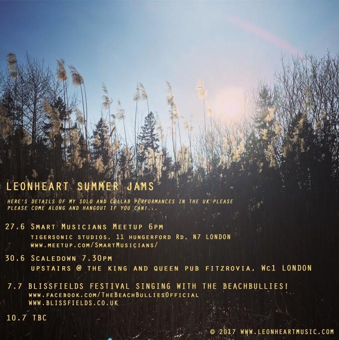TBC Leonheart summer jams
